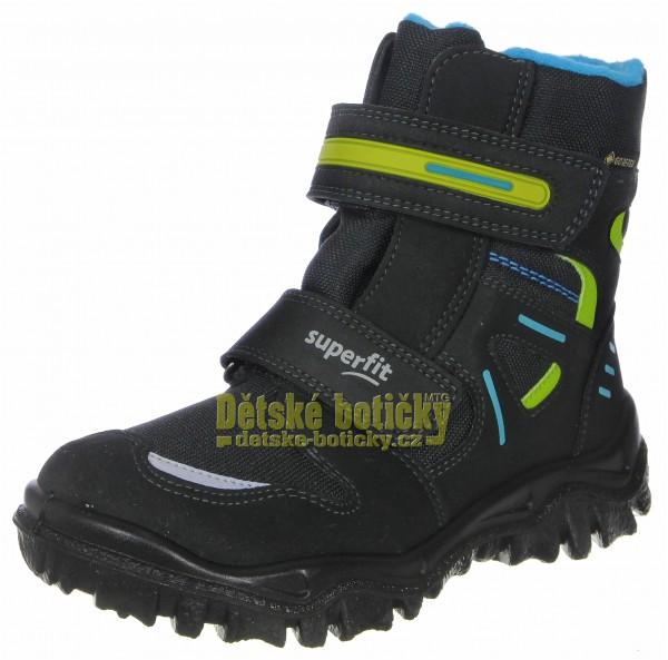 Superfit 1-809080-0200 Husky2 schwarz/blau