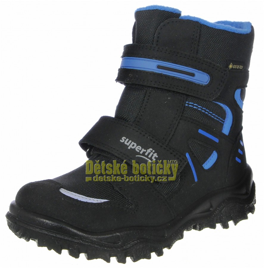 Superfit 1-809080-0000 Husky1 schwarz/blau