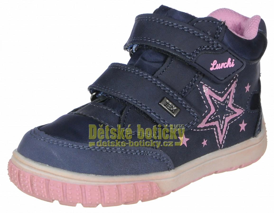 Lurchi 33-14617-32 Jotti-tex navy/rose