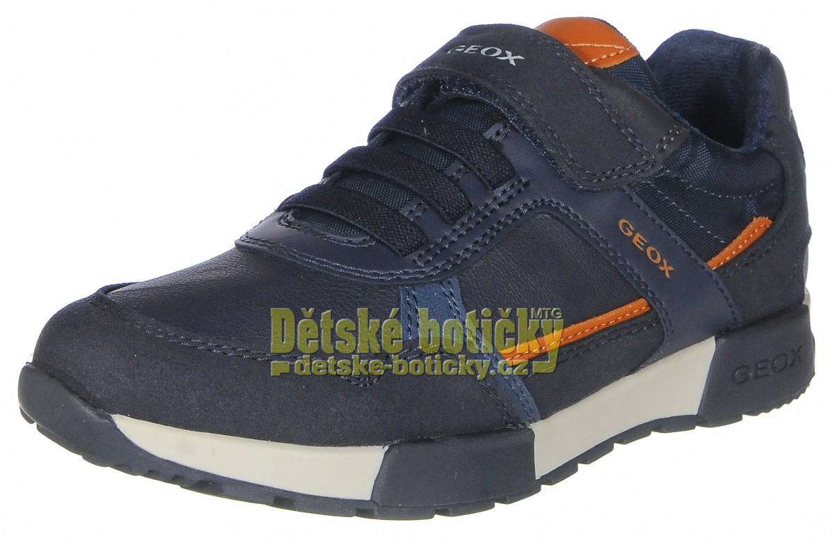 Geox J046NA 0BUAF C0659 navy/orange