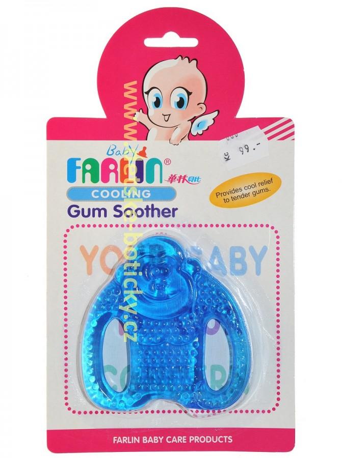 Farlin BF-147 - Chladivé kousátko Opička modré
