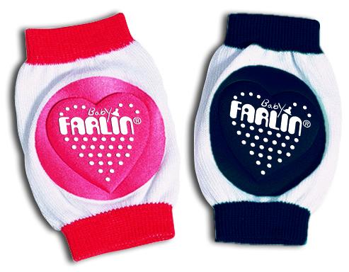 Farlin BF-305 - Chrániče na kolena. Modrá a červená