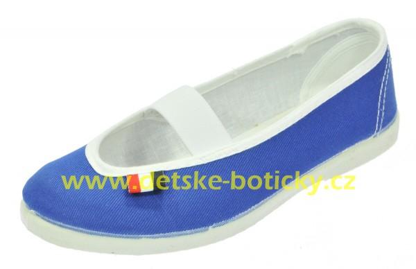 jarmilky 729-323 modrá cvičky