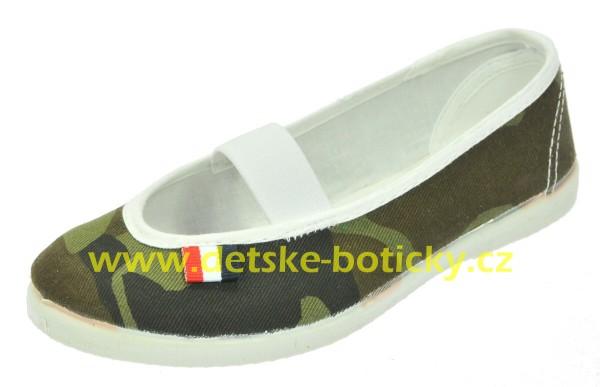 jarmilky 729-323 maskáč khaki cvičky