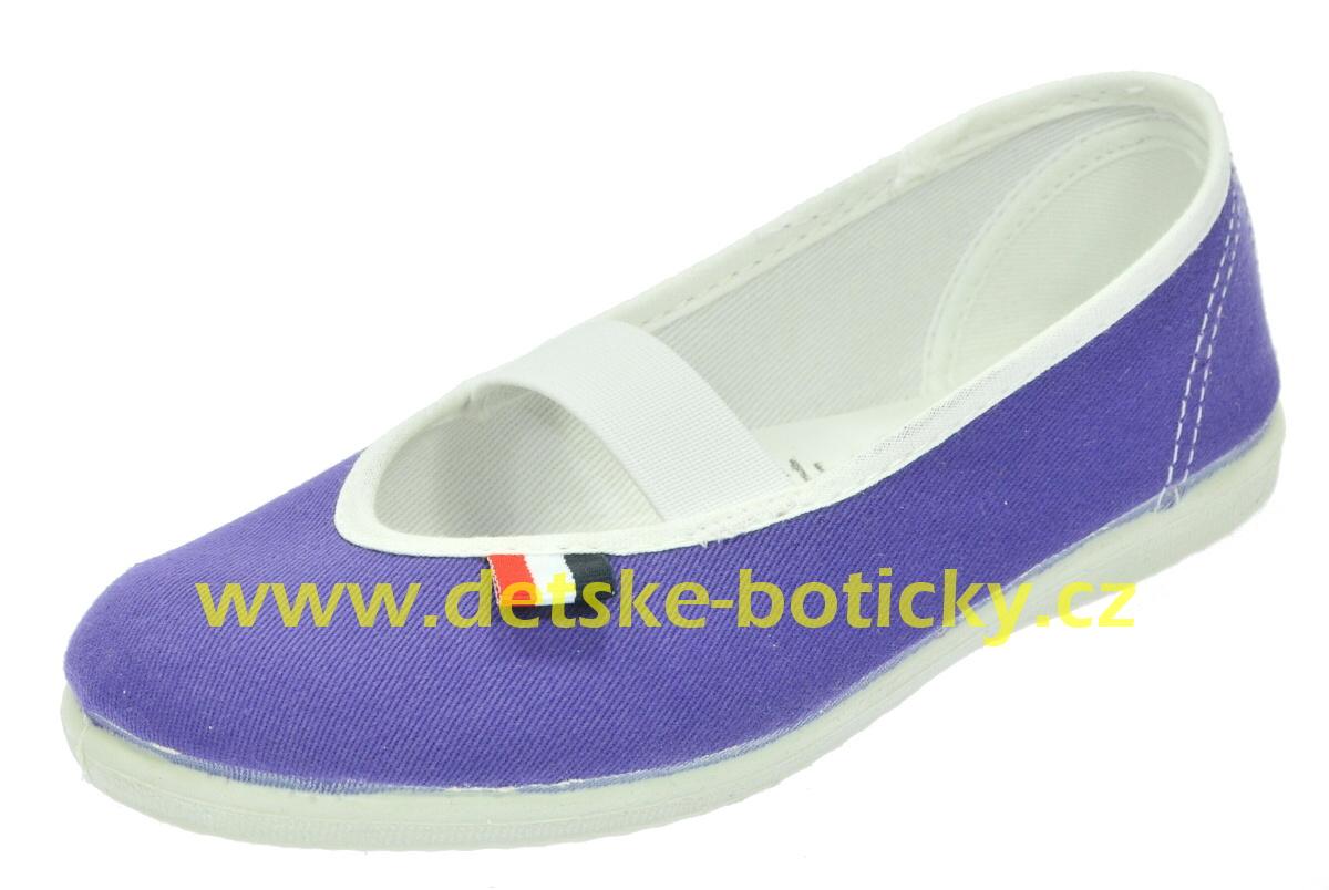 jarmilky 729-323 fialová cvičky