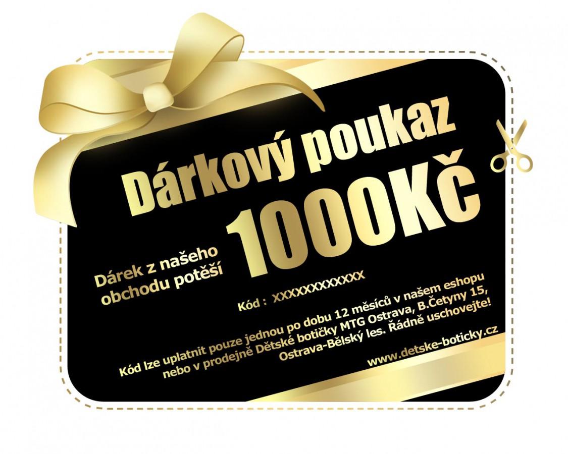 Poukaz na nákup 1000Kč