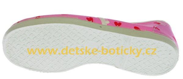Fotogalerie: Toga jarmilky 729-323 růžová potisk cvičky