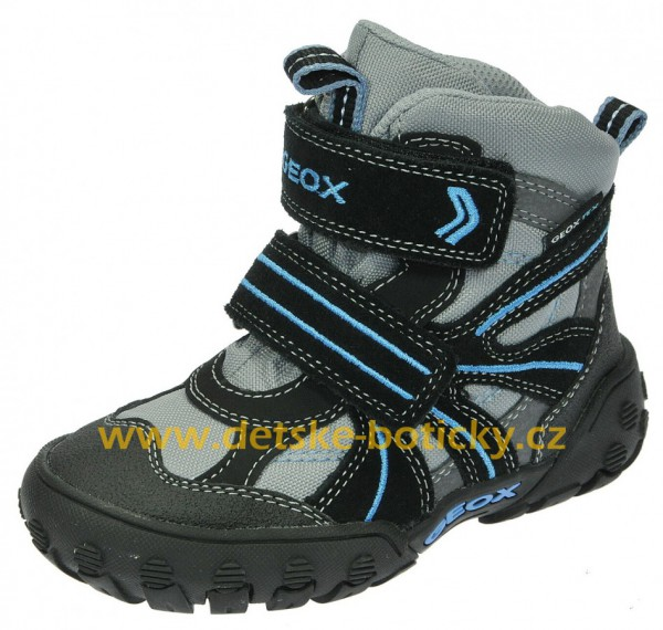 Geox B2402T 01122 C0415 Grey/LT Blue