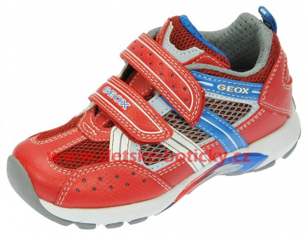 Geox B3237A 01404 C7213 red/royal
