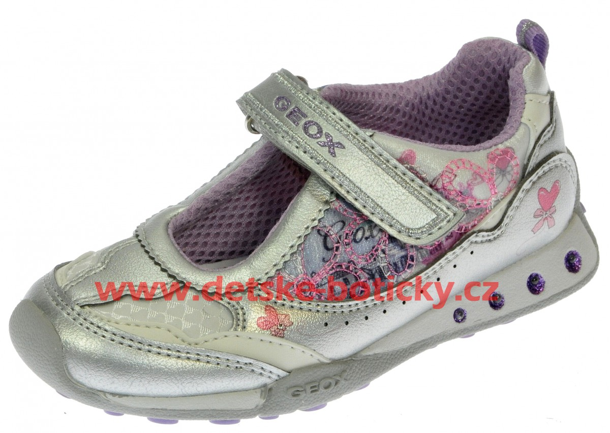 Geox B32G2D 0AJAP C1316 silver/lilac