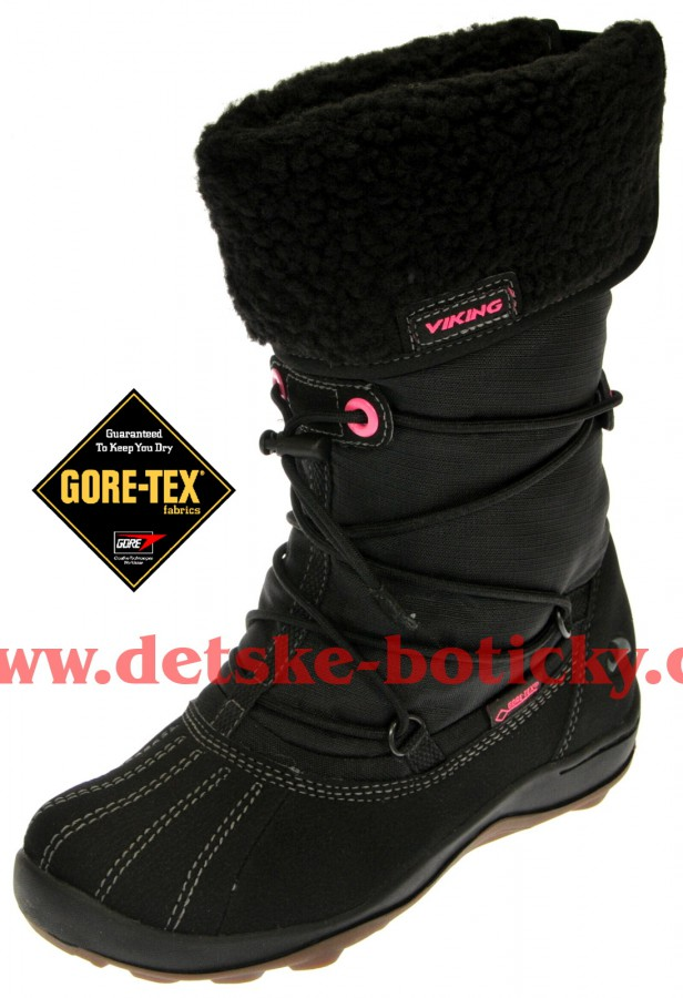 Viking 3-83580-209 katla GTX black/pink