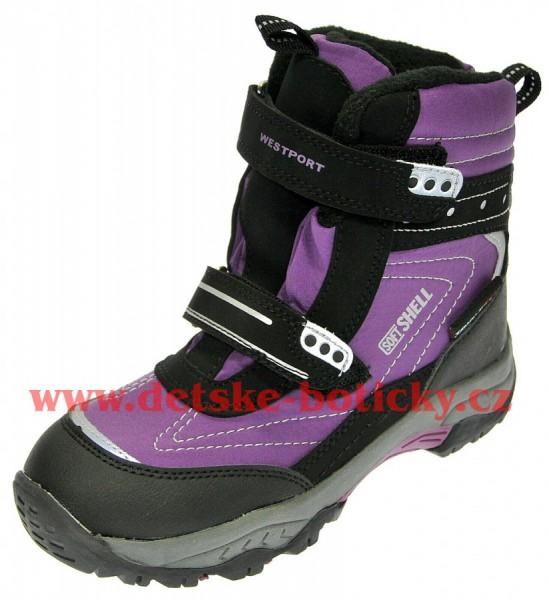 Westport Lanson 119009 43 L-Black/purple