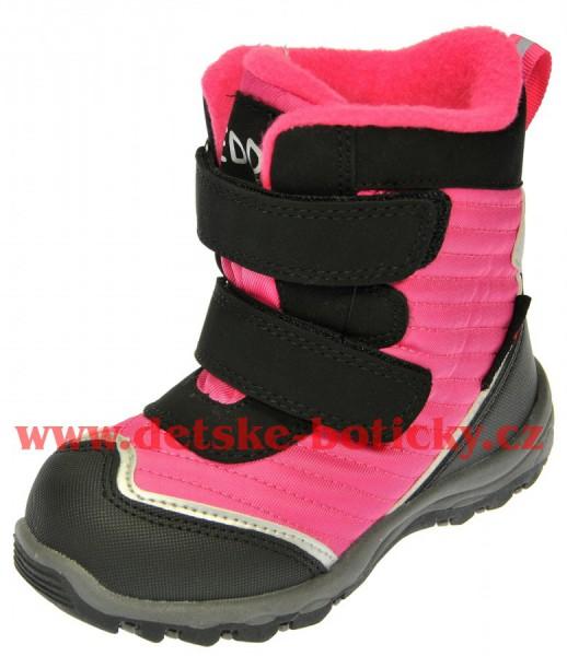 Peddy PR-631-25-28 růžová/černá