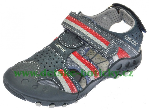 Geox J42E1D 05010 C0735 navy/red