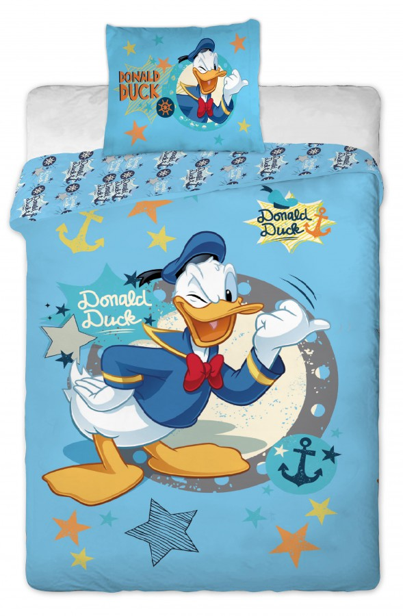 Fotogalerie: Jerry Fabrics Povlečení Disney - Donald Duck 140x200 70x90