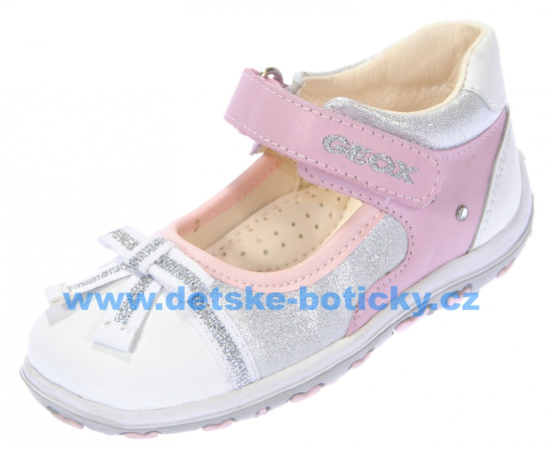 Geox B42E6D 043DR C0814 white/LT pink