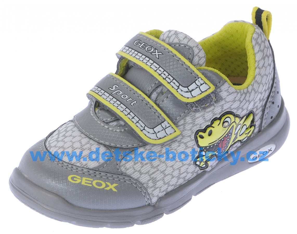 Geox B42H8C 014CE C0666 grey/lime