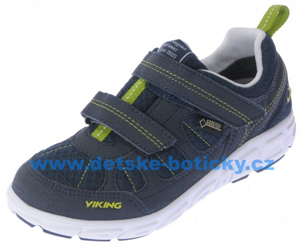 Viking 3-45380-588 ludo low GTX navy/lime