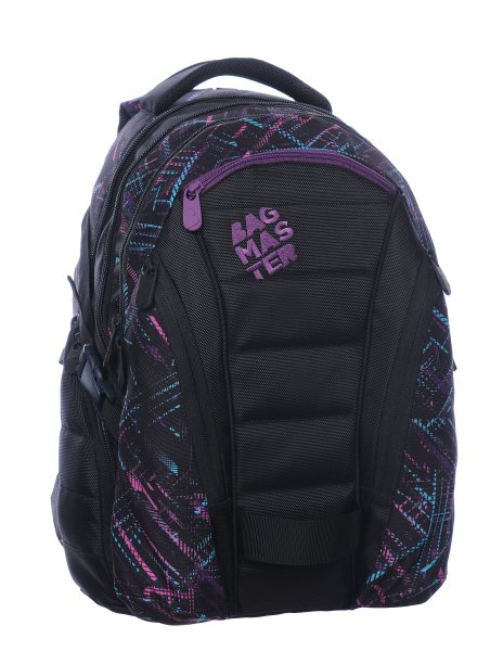 Bagmaster BAG 0115 C BLACK/VIOLET