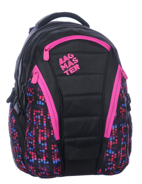 Bagmaster BAG 0115 B BLACK/PINK