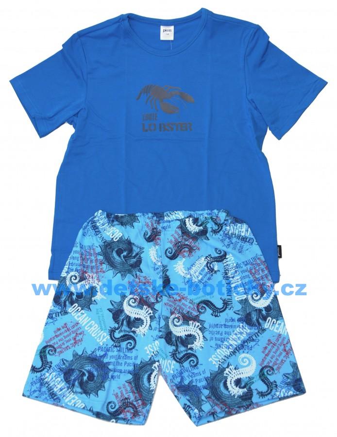 Pleas 147611-819 pyžamo královská modrá