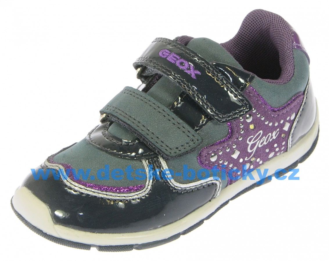 Geox B5433B 0HHBJ C4269 navy/purple