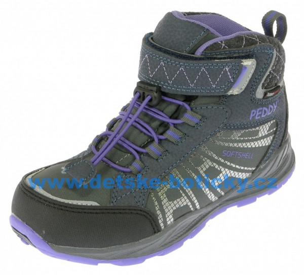 Peddy PV-509-23-02 šedá/fialová