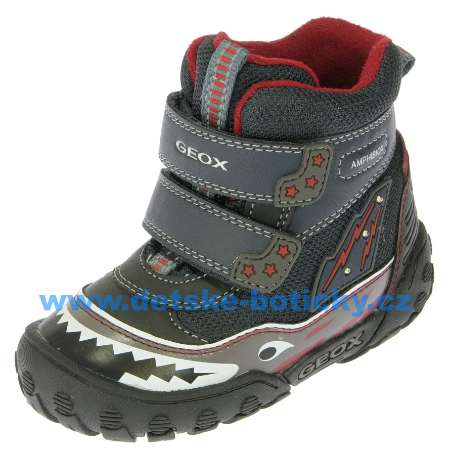 Geox B5402A 011BC C4075 DK navy/red