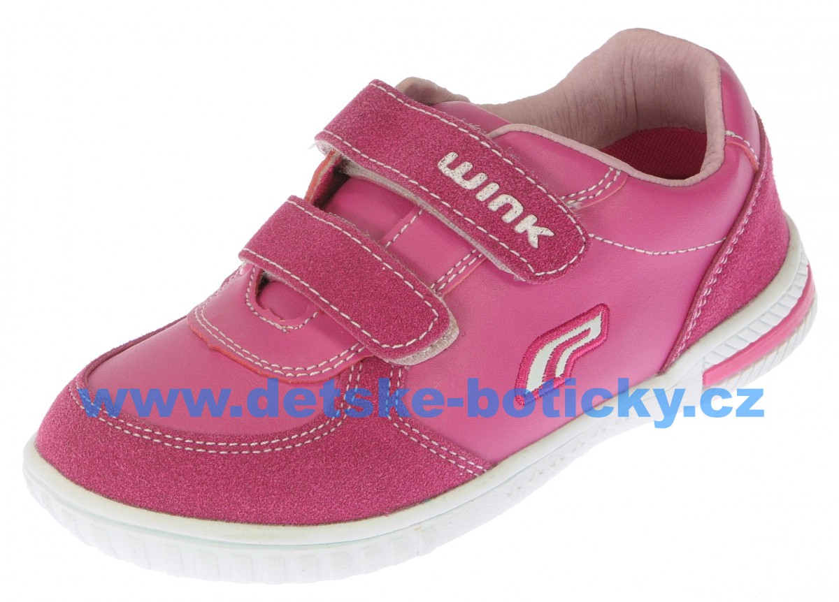 Obutex Wink FV5462-2 Lusio Leather fuxia/pink