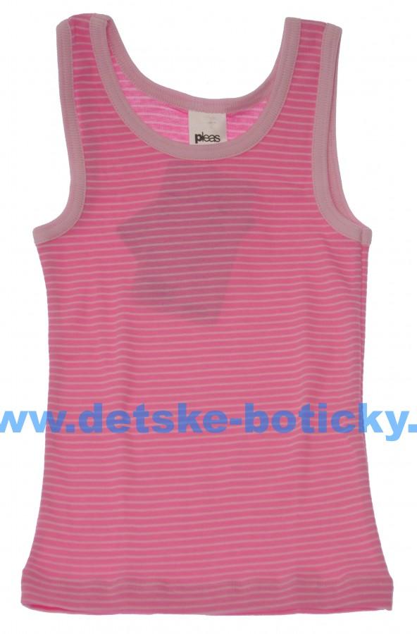 Pleas 149682-503 košilka tílko růžová