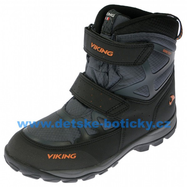 Viking 3-84280-7763 Kjetil velcro GTX charcoal/burnt orange