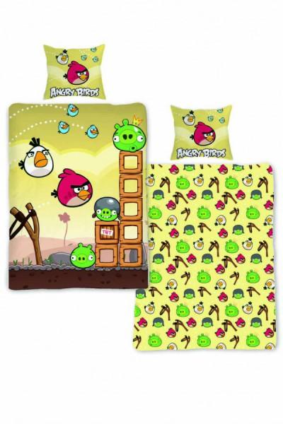 Jerry Fabrics Povlečení Angry Birds AB005 140x200 70x90