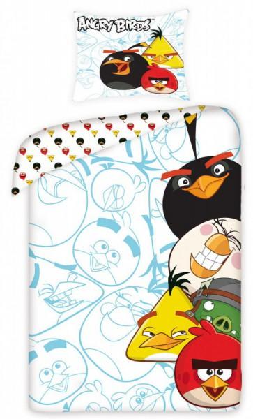 Jerry Fabrics Povlečení Angry Birds AB5002 140x200 70x90