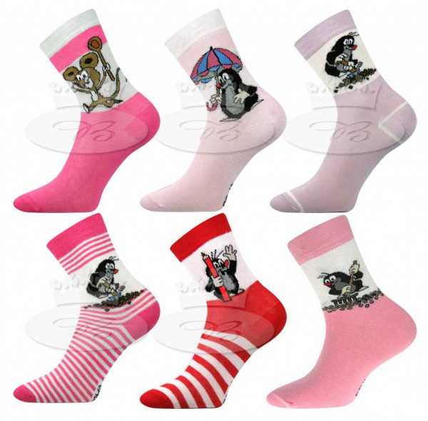 Boma ponožky Krtek dívka
