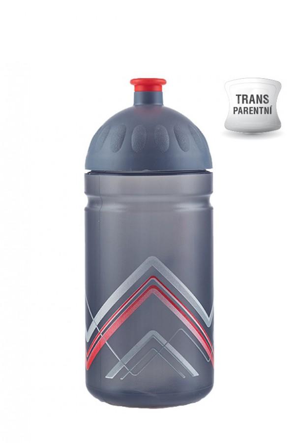 Zdravá lahev V050281 BIKE Hory červená 0,5l