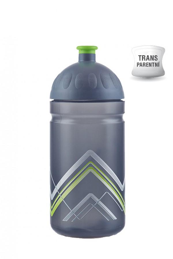 Zdravá lahev V050283 BIKE Hory zelená 0,5l
