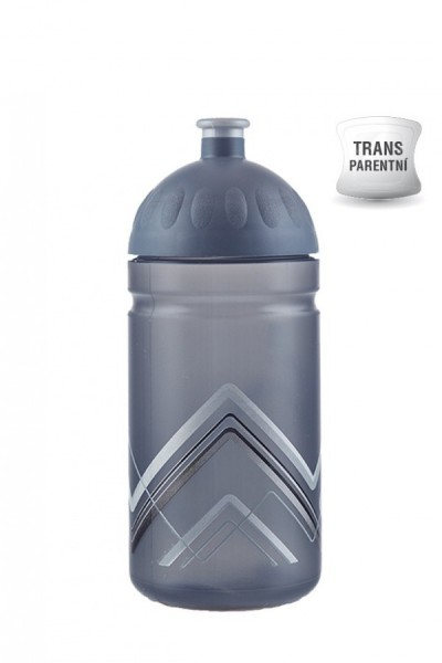 Zdravá lahev V050284 BIKE Hory šedá 0,5l