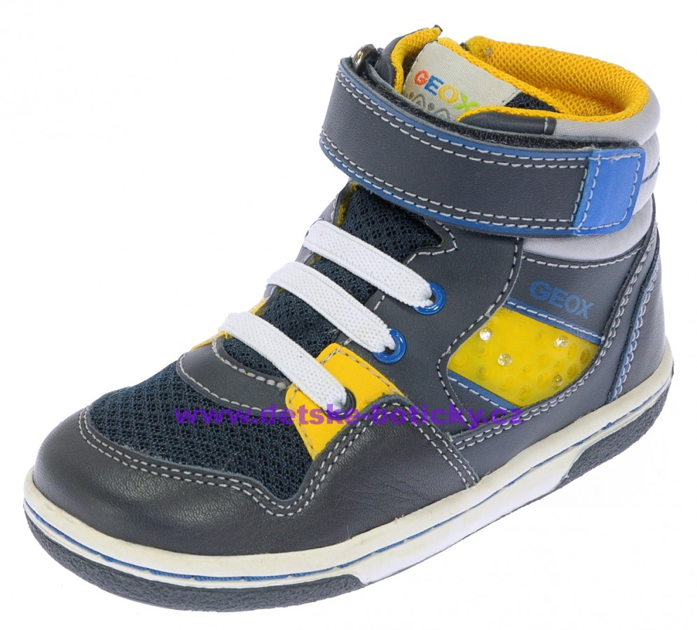Geox B4437J 054FU C0657 navy/yellow