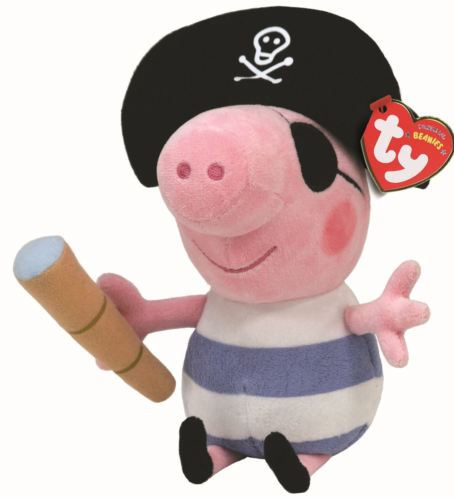 <p>Pig - Pirate - Ty Beanie Babies Plush Teddy - Soft Toys</p>