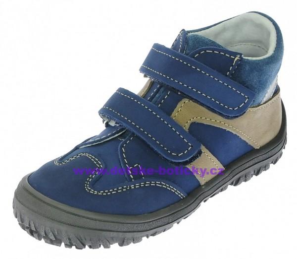 df6462b998f Boots4U T815PV modrá béžová