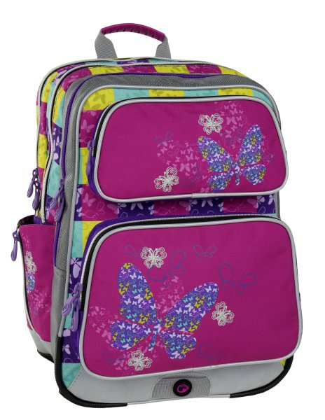 Bagmaster GALAXY 6 B PINK BLUE YELLOW d4b7f5706c