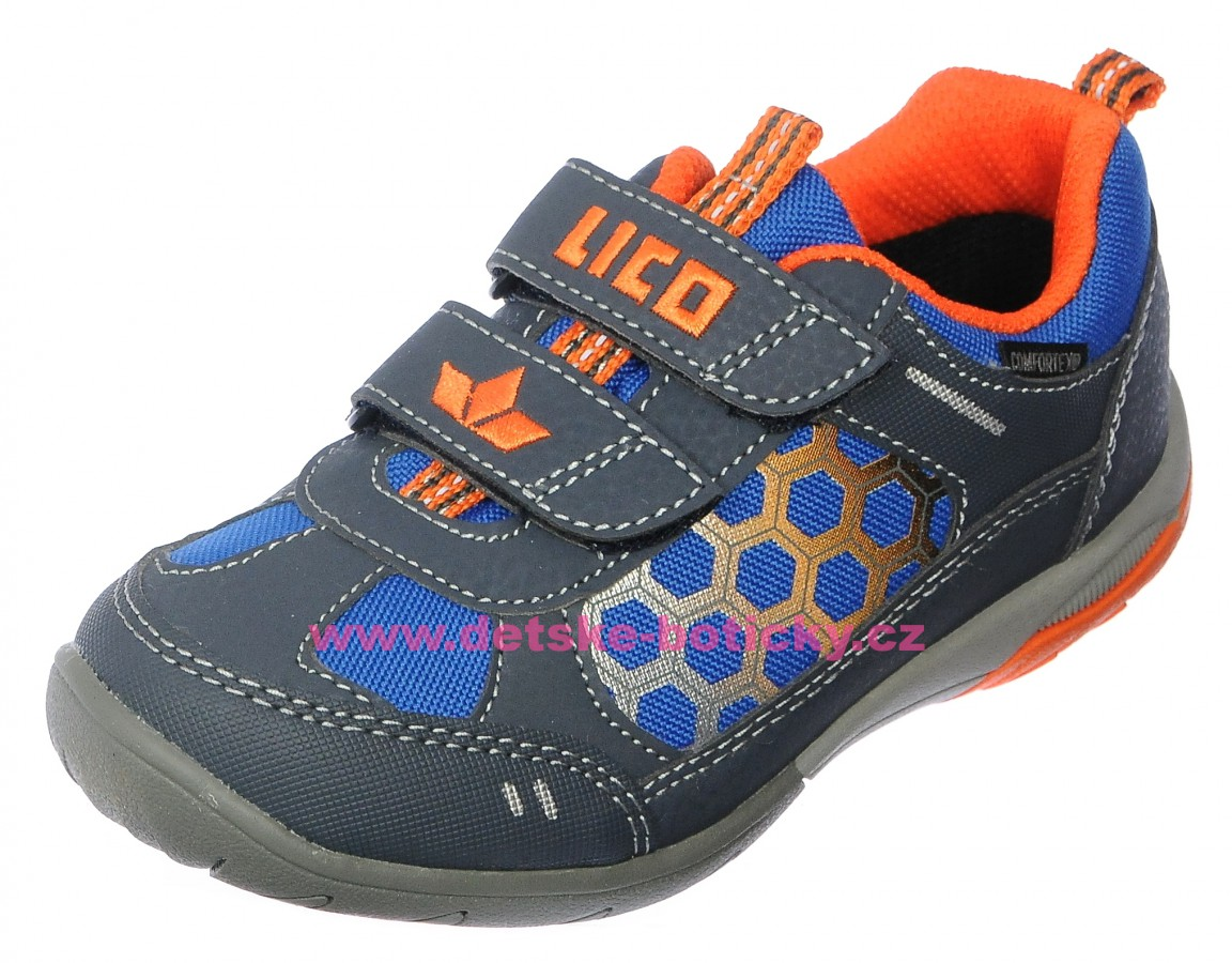 Lico 530770 Palmito V blau/marine/orange