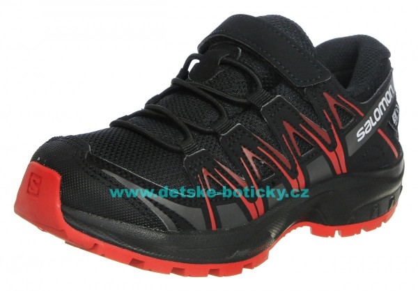 Salomon Speedcross CSWP K 407467 black/black/high risk red