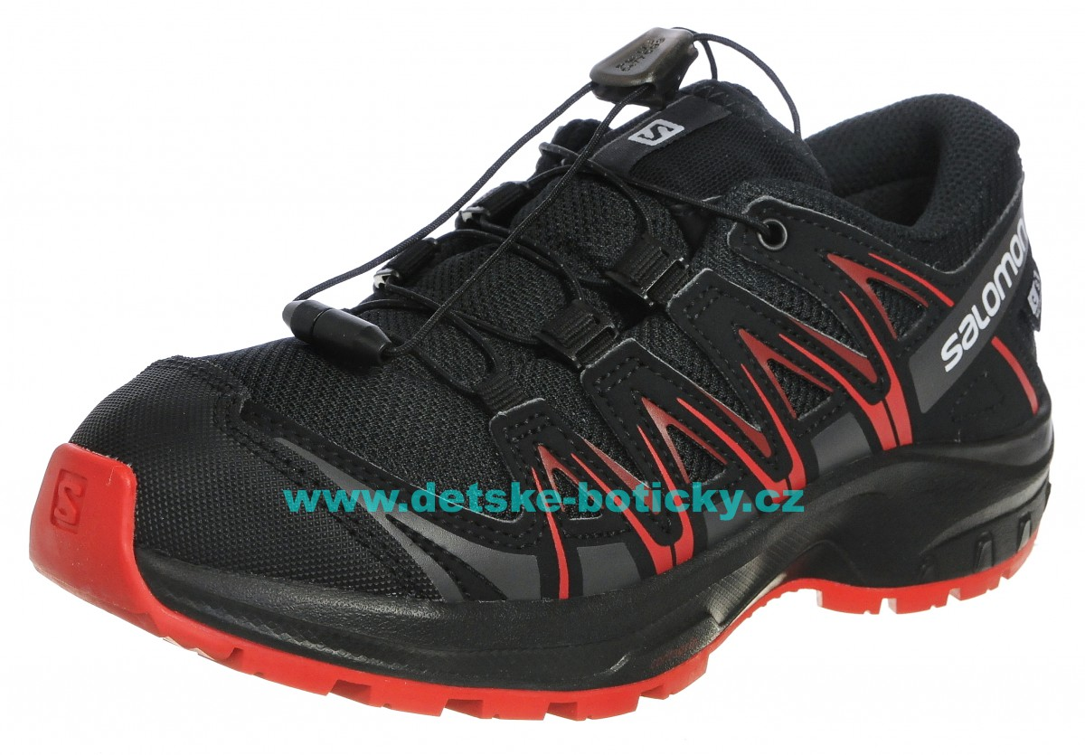 Salomon XA PRO 3D CSWP J 407468 black/black/jigh risk red