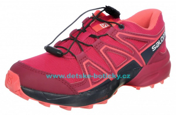 Salomon Speedcross J 404821 cerise/navy blazer/dubarry