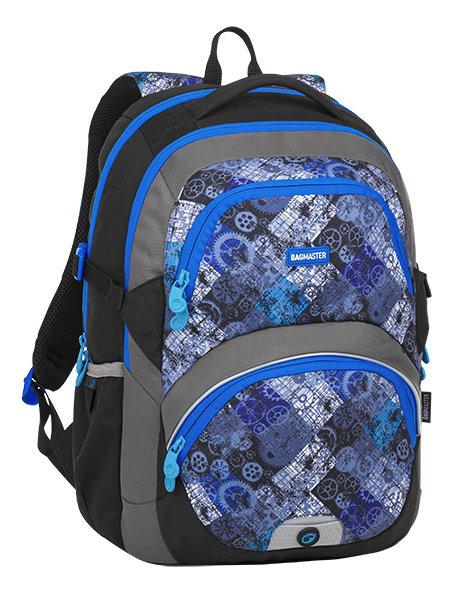 Bagmaster THEORY 8 D BLACK BLUE GRAY 07043fe065