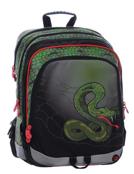 f5cc435335d Bagmaster S1A 0115 C GREEN RED BLACK SNAKE