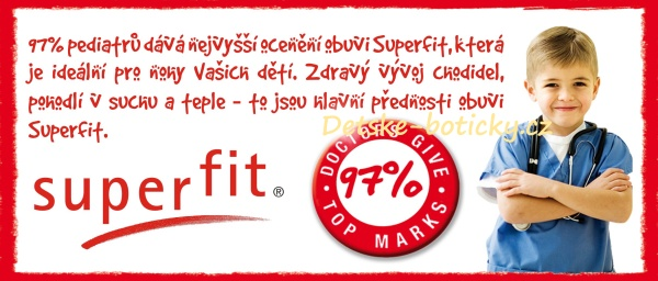 Superfit - nohy v teple a suchu